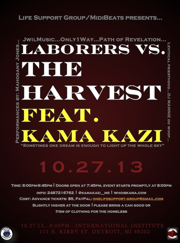 Laborers vs. THE HARVEST
